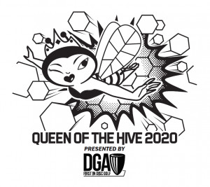 WGE - 2020 Queen of the Hive Presented By DGA graphic