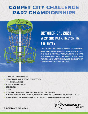 Carpet City Challenge - Par2 Championships - Powered by Prodigy graphic