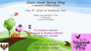 Chain Hawks Spring Fling +WGE graphic
