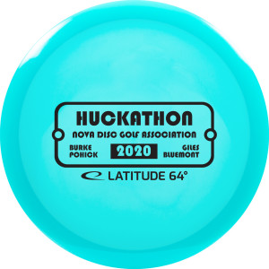 Huckathon 2020 sponsored by Dynamic Discs graphic