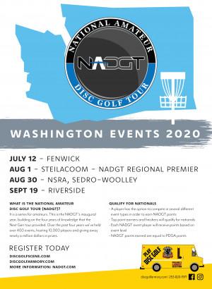 NADGT Premier Event  - Ft Steilacoom DGC graphic