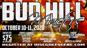 Bud Hill Masters sponsored by ProScan Security and Technology graphic