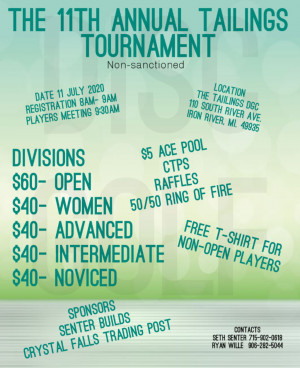 The Tailings Tournament graphic