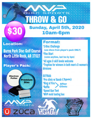 Throw & Go MVP with Sarah Hokom (Little Rock, AR) graphic