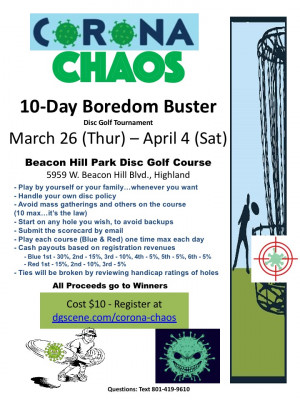 Corona Chaos 10-Day Boredom Buster graphic