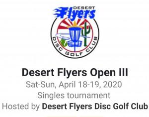 THE DESERT FLYERS III graphic
