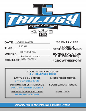 2020 Trilogy Challenge @BFP park graphic