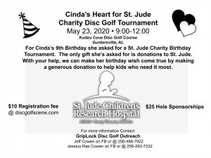 Cinda's Heart for St. JUDE graphic