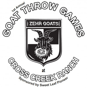 Goat Throw Games at Cross Creek graphic