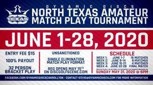 Dynamic Discs North Texas Amateur Match Play Tournament graphic