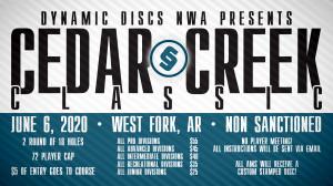Dynamic Discs Presents: 2020 Cedar Creek Classic graphic