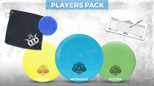 Trilogy Challenge 2020 driven by Bria Disc Golf graphic