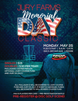 Jury Farms Memorial Day Classic - Doubles graphic