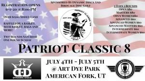 8th Annual Patriot Classic graphic