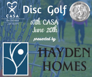CASA Cares Disc Golf presented by Hayden Homes graphic