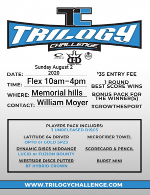 Trilogy challenge at the Hills graphic