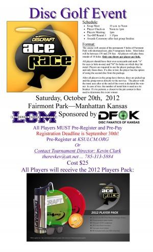 2012 Manhattan Area Ace Race graphic