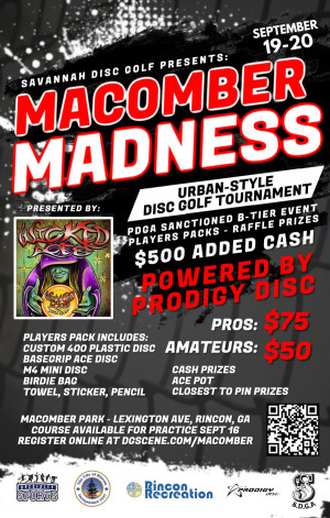 Macomber Madness 2020 Presented by Wicked Aces Powered by Prodigy graphic