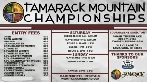 Tamarack Mountain Championships presented by Dynamic Discs graphic