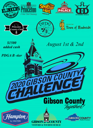 Gibson County Challenge presented by GCVTB graphic