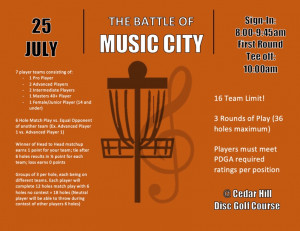 The Battle of Music City graphic