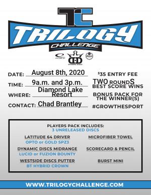 Diamond Lake Trilogy Challenge graphic