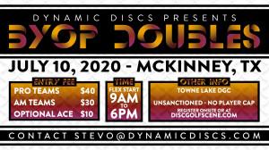 Dynamic Discs BYOP Doubles @ Towne Lake graphic