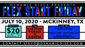Dynamic Discs Flex Start Friday @ Towne Lake graphic