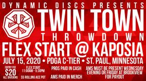 Twin Town Throwdown Flex Start@Kaposia presented by Dynamic Discs graphic