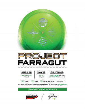 Jack's Rapid Fire Disc Golf presents Project: Northstar powered by Prodigy graphic
