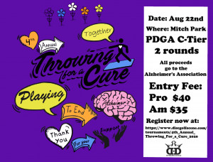 4th Annual Throwing For a Cure graphic