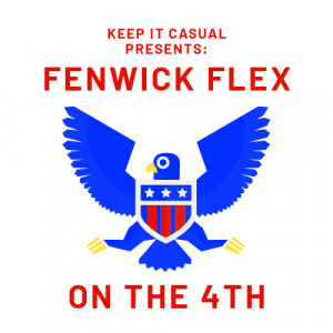 Keep It Casual Disc Golf presents: The Fenwick Flex on the 4th graphic
