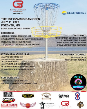 Cycle Bar presents: The Ozark's Dam Open Powered by Liberty Utilities graphic