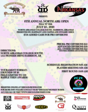 Elephant & Castle presents: The 8th Annual North Ark Open graphic
