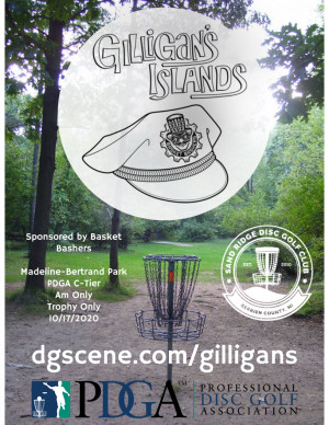 Gilligan's Islands Sponsored by Basket Bashers graphic