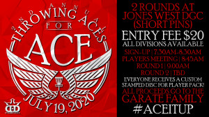2nd Annual Throwing Aces for Ace graphic
