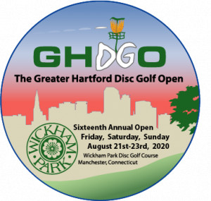 2020 Greater Hartford Disc Golf Open graphic