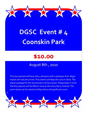 DGSC Points Series At Coonskin graphic