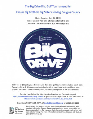 The Big Drive graphic