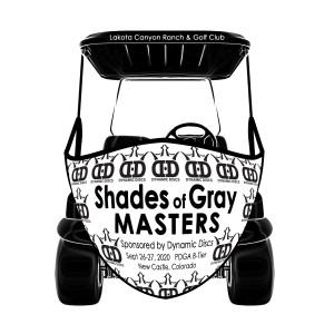 Shades of Gray MASTERS Sponsored by Dynamic Discs graphic