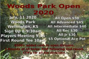 Woods Park Open graphic