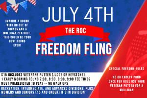 FREEDOM FLING graphic