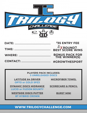 Trilogy Challenge at Carnes Park graphic