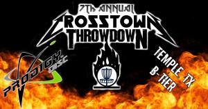 7th Annual Crosstown Throwdown graphic