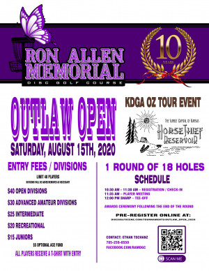 Outlaw Open graphic