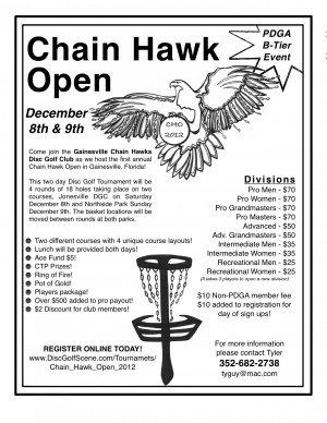 Chain Hawk Open graphic
