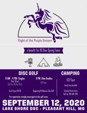 Flight of the Purple Unicorn graphic