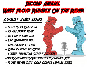 Second Annual West Floyd Rumble on the River graphic