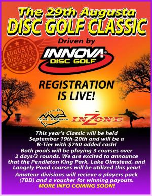 Augusta Disc Golf Classic graphic