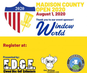 2020 Madison County Open graphic